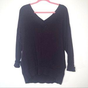 Victorias Secret Purple Cashmere Blend Sweater Top